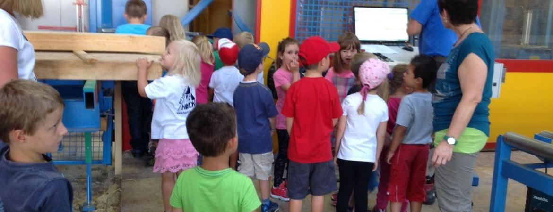Besuch aus dem Kinderhaus